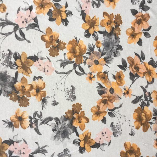Turban Pastel Flowers
