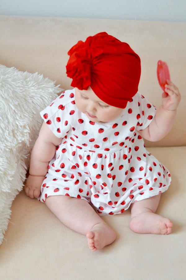 Turban Strawberry Red